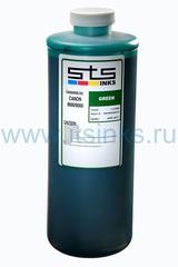 Пигментные чернила STS для HP Green 1000 мл