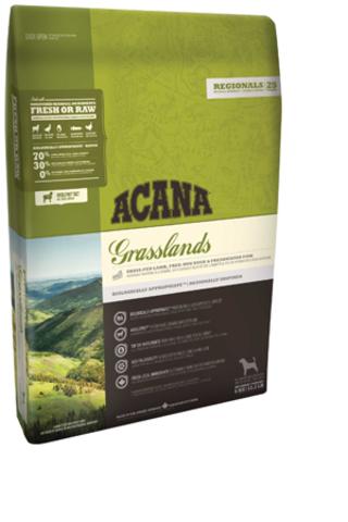 Acana Grasslands для собак всех пород и возрастов с ягненком