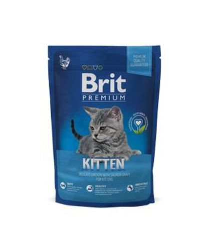 3889 Brit Premium Cat Kitten д/котят с Курицей 800гр*12