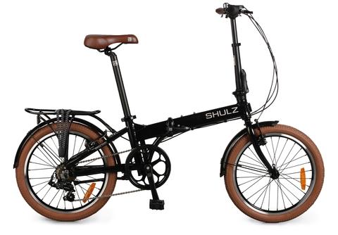 складной велосипед Shulz Easy черный