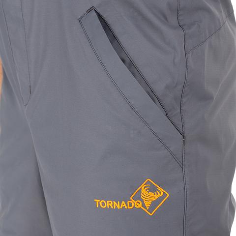 Костюм Демисезонный Торнадо (Таслан мембрана, Серый )Huntsman