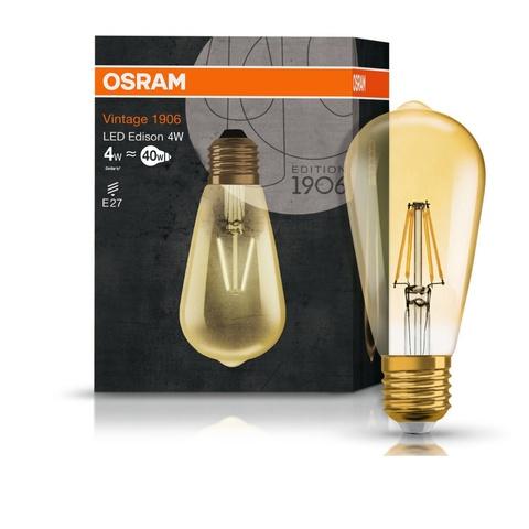 Лампа светодиодная OSRAM LS VINTAGE 1906 LED EDISON 4W 230V E27 824