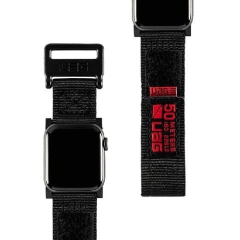 Ремень UAG Active Range Strap для Apple Watch 44/42 черный (Black)