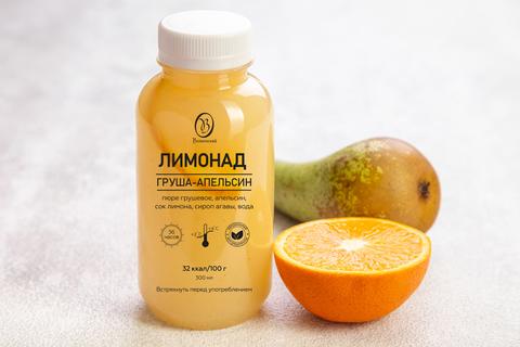 Лимонад груша-апельсин