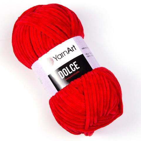 Пряжа Dolce (Дольче) Цвет: Красный. Артикул: 748
