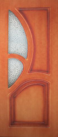 Дверь Карелия ДО (карелия, остекленная шпонированная), фабрика Румакс
