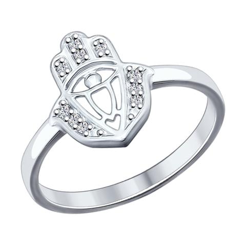 94012038 - Серебряное кольцо