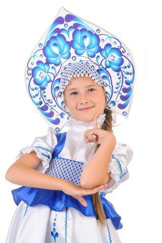 Русский народный костюм Гжель девочка 2