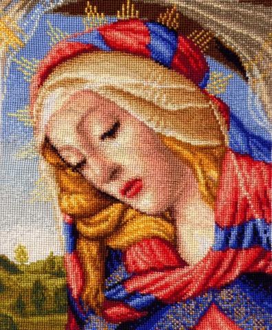 1111-23 Великолепная Мадонна (Боттичелли) маленькая модель