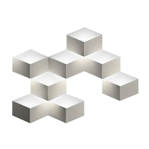 Настенный светильник копия Fold 4208 by Vibia (8 плафонов, белый)