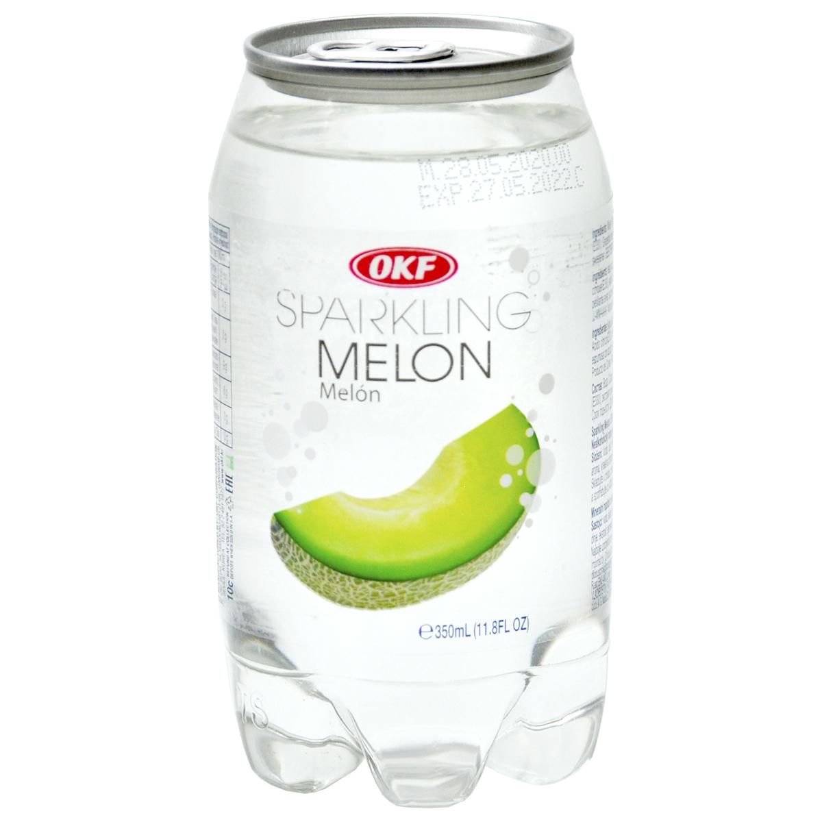 Газированная вода со вкусом дыни