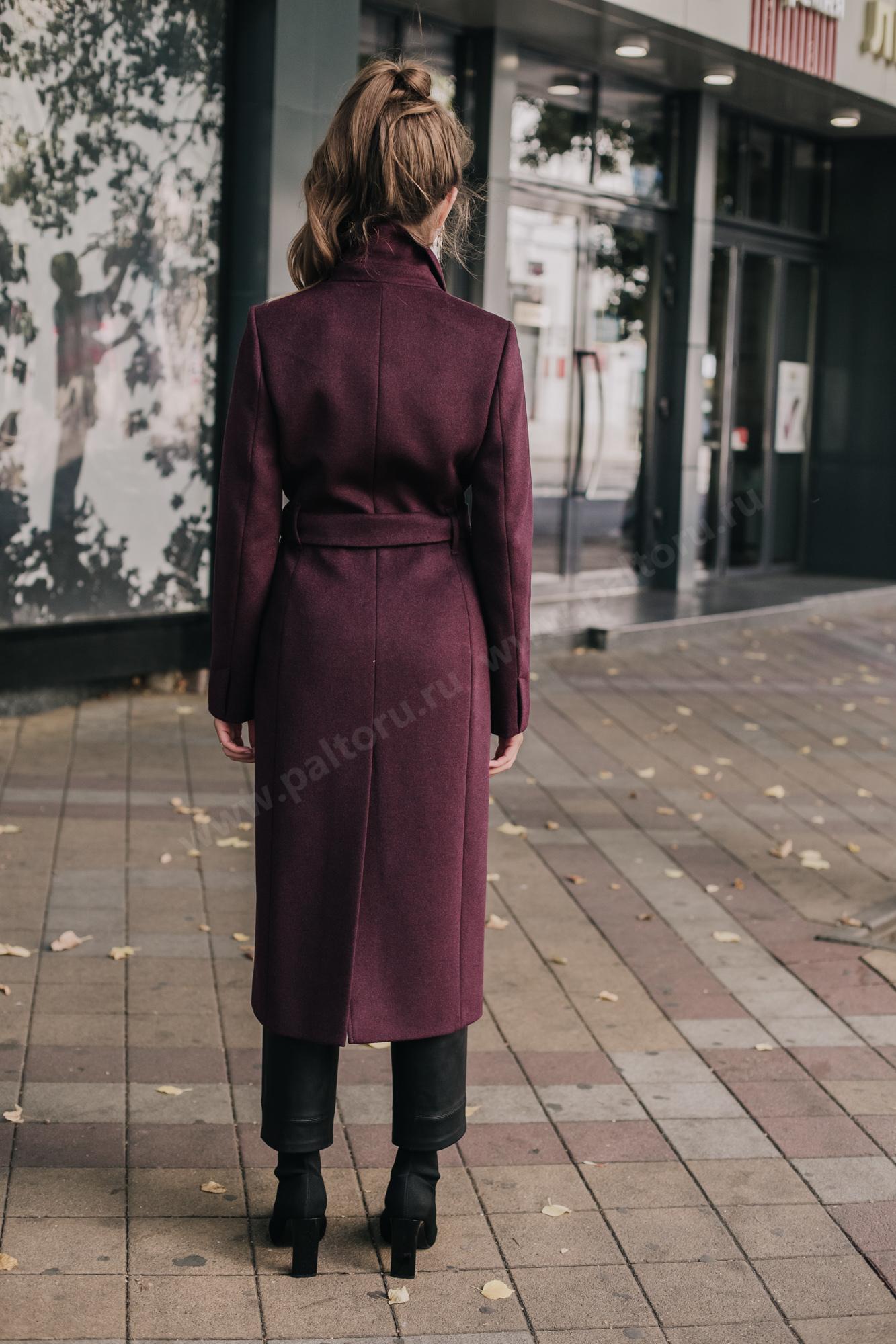 Пальто женкое приталенное
