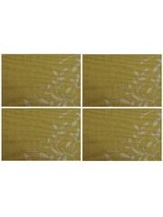 Термосалфетка кухонная плейсмат Dutamel салфетка сервировочная зеленые узоры DTM-005 45*30 см - 1 шт