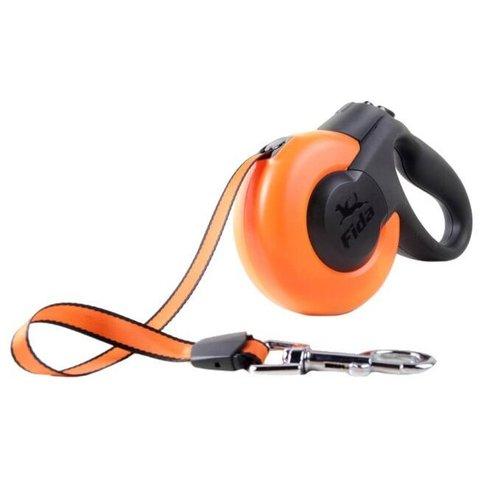 Fida Mars Рулетка для собак крупных пород до 50 кг лента 5 м