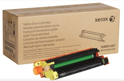 Оригинальный фотобарабан Xerox 108R01487 желтый