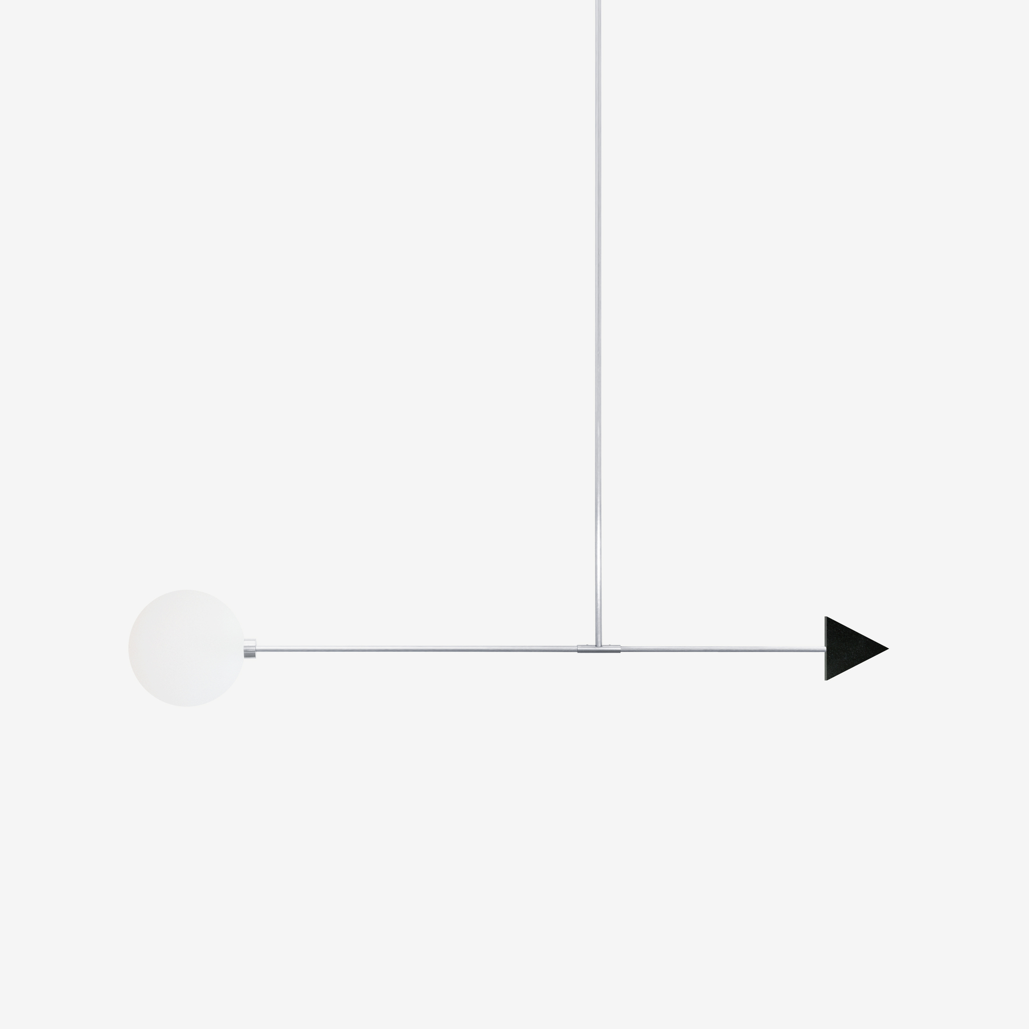 Подвесной светильник Libra trig черный гранит - вид 3