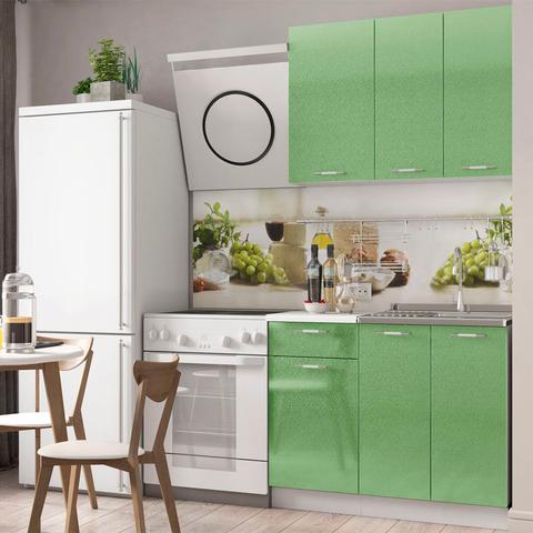 Кухня Техно Зеленая