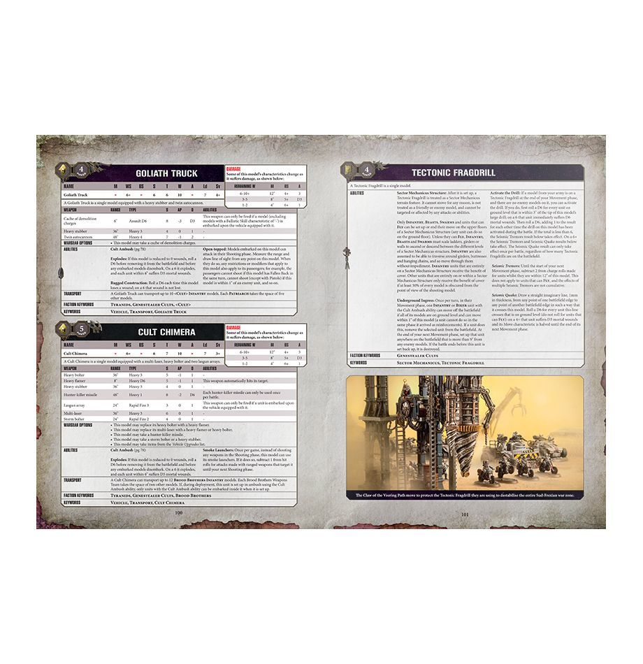 Codex: Genestealer Cults. Кодекс Генокульта