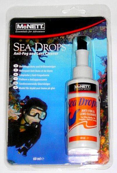 Очиститель-антифог для масок Mcnett Sea Drops с кисточкой 60 мл