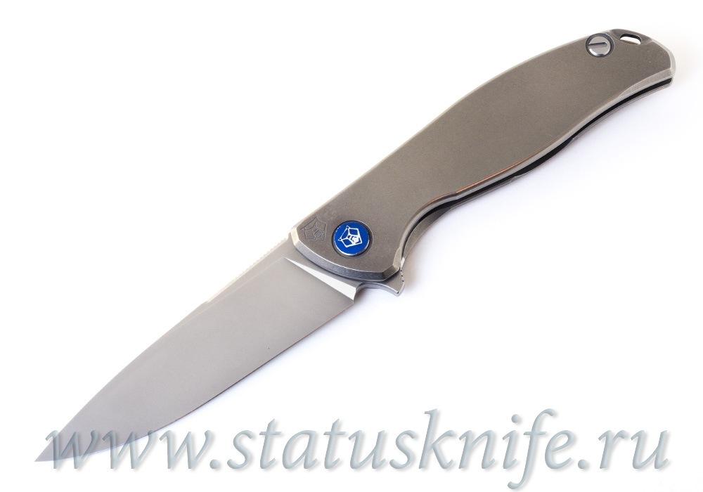 Нож Широгоров Флиппер 95 SLIM Nudist M390 - фотография
