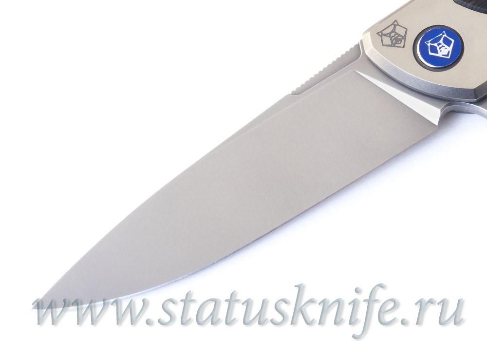 Нож Широгоров Флиппер 95 NL Blackwood M390 - фотография