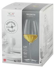 Набор из 4 бокалов для вина INCONTRI, 430 мл, фото 2