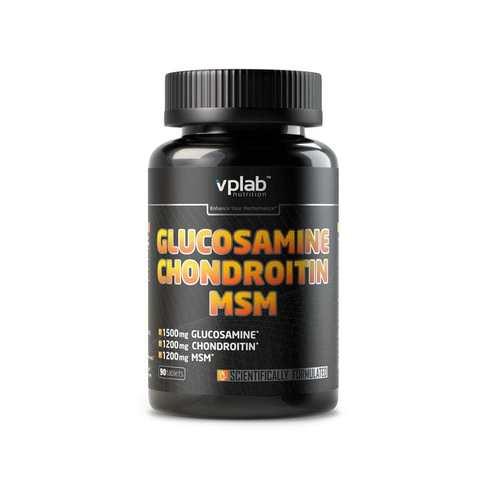 ВПЛАБ Глюкозамин Хондроитин MSM / 90 таб