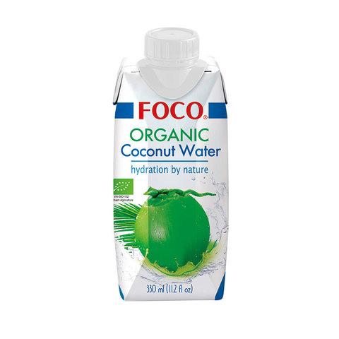 FOCO органическая кокосовая вода 330 мл
