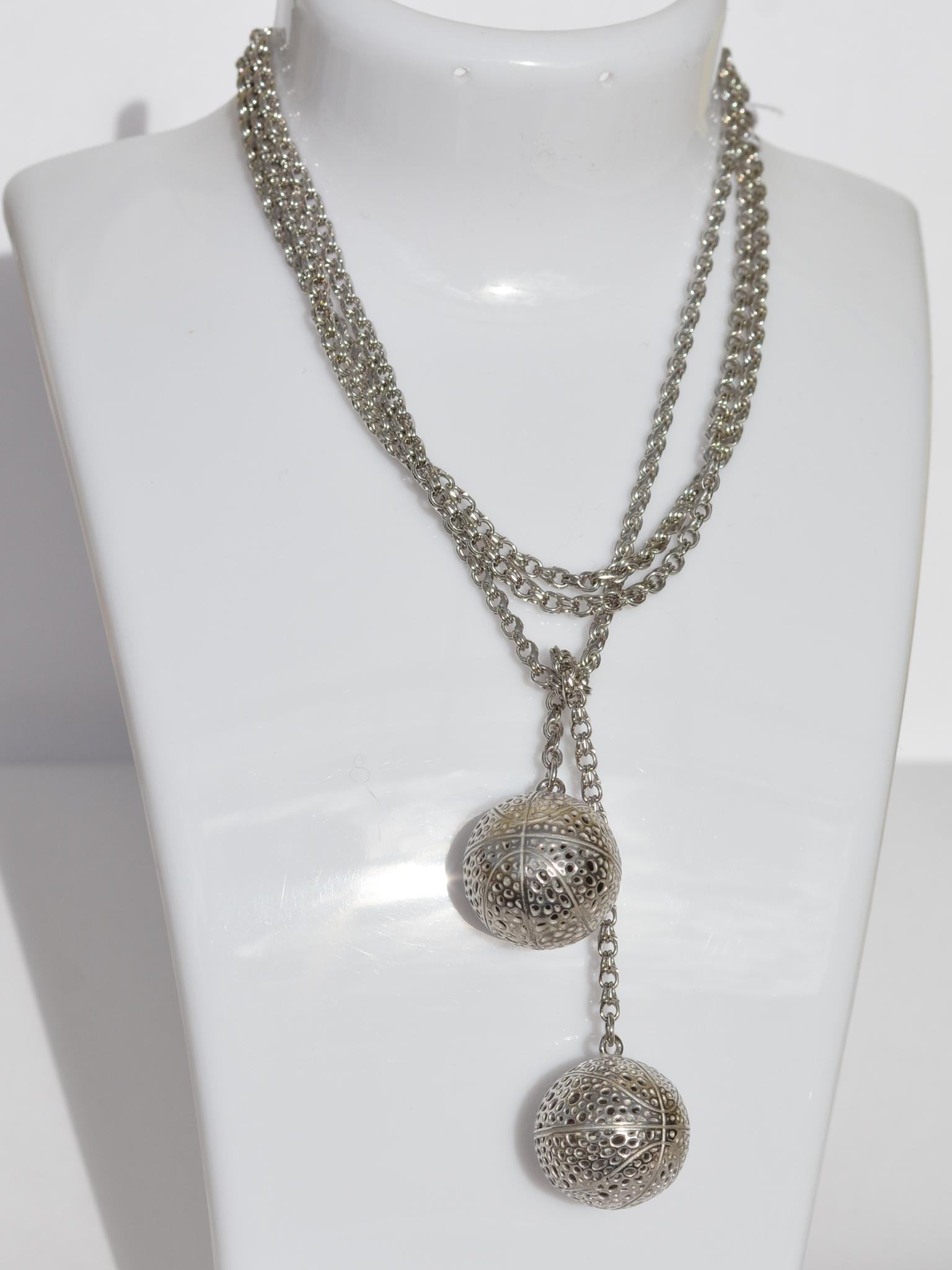 Цепь-галстук Р(серебряная цепочка)