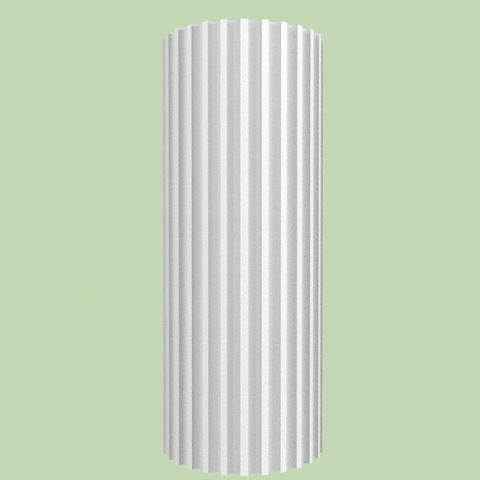 Канелюрная колонна из пенопласта