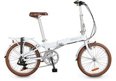 складной велосипед Shulz Easy белый