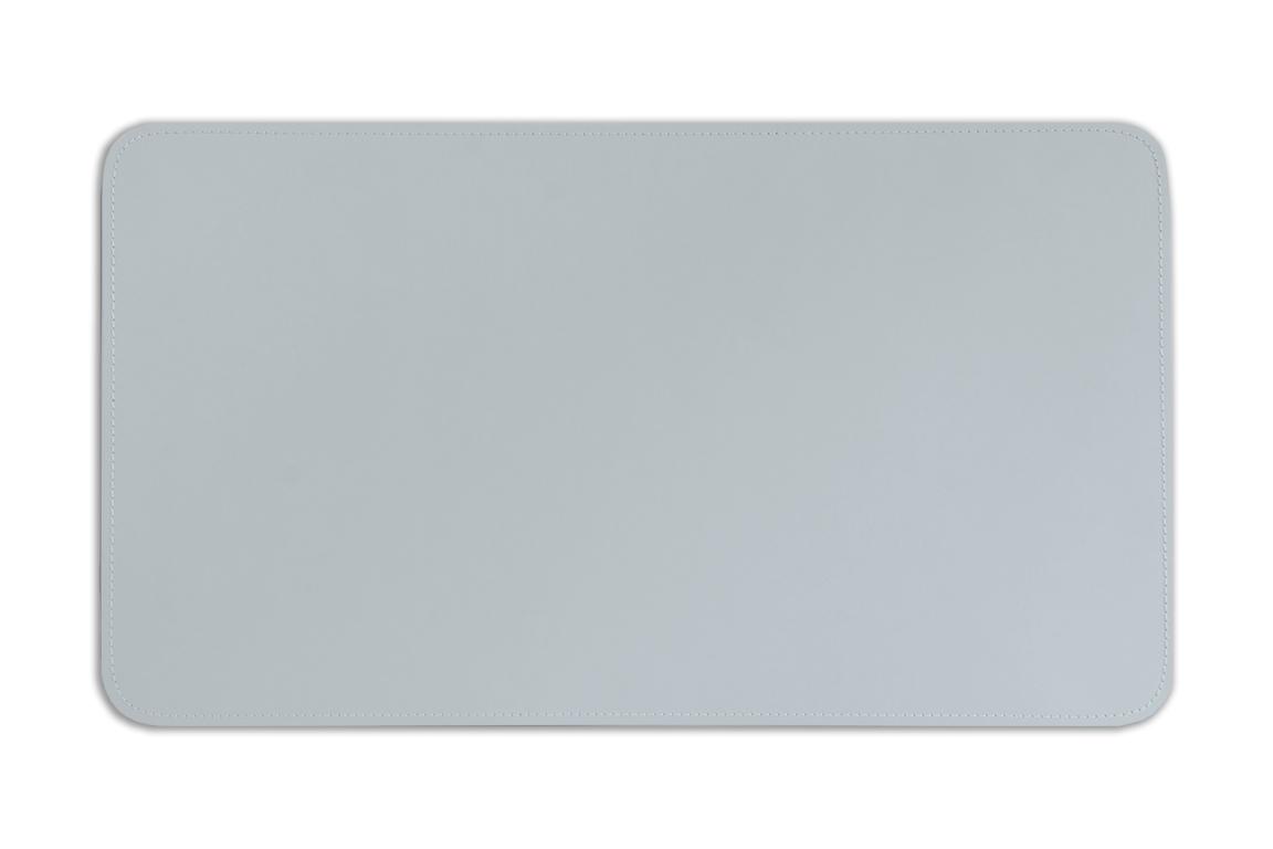 коврик на стол серый кожаный