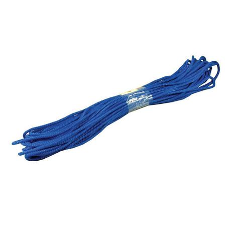 Шнур полипропиленовый плетеный жесткий 5 мм х 25 м