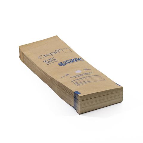 Крафт-пакеты для стерилизации (коричневые) р.100*200 Уп. 100 шт