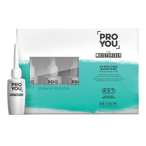REVLON ProYou Moisturizer: Бустер увлажнение для всех типов волос (Hydrating Boosters), 10*15мл