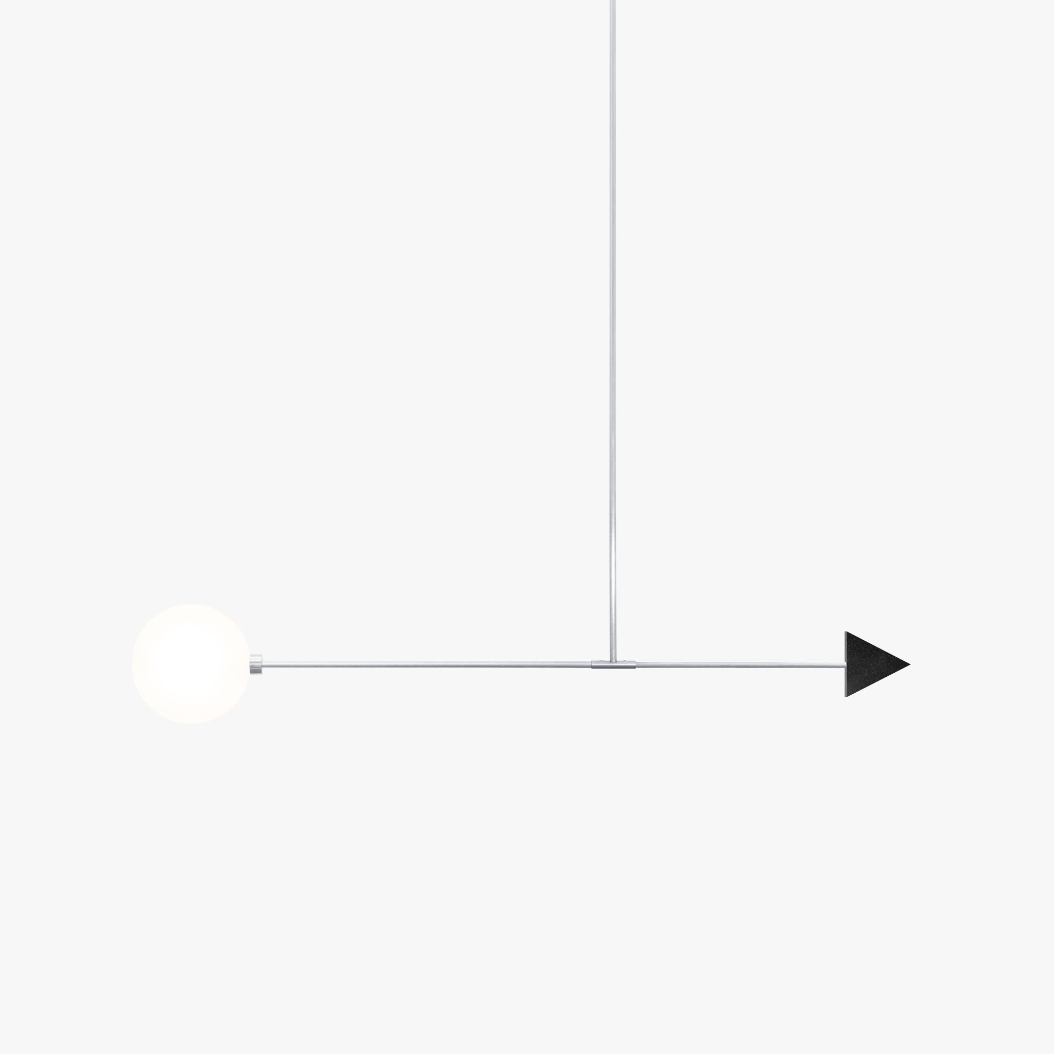 Подвесной светильник Libra trig черный гранит - вид 4