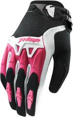 Мотоперчатки - THOR SPECTRUM (женские, розовые)