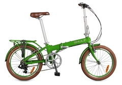 складной велосипед Shulz Easy зеленый