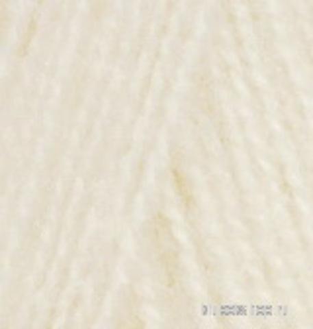 Alize Angora REAL 40 PLUS 01 кремовый, фото