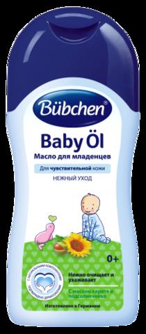 Масло для младенцев Bubchen