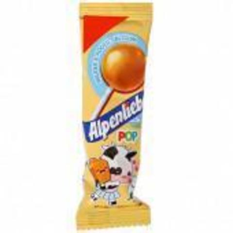 Карамель на палочке Alpenliebe caramel 9,5 гр