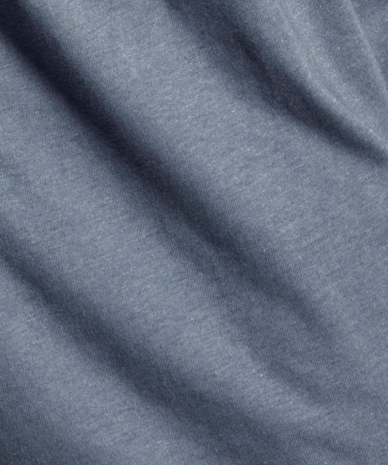 Мужские трусы боксеры Atlantic, набор из 2 шт., хлопок, темно-синие + голубой меланж, 2MBX-008