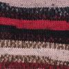 Пряжа YarnArt Crazy Color 156 (Черный,красный,капучино)