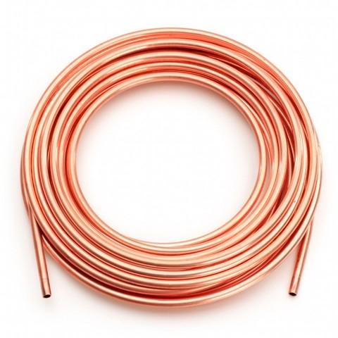 Дополнительный фреонопровод за 1 м.п. (6,35 мм / 12,7 мм)
