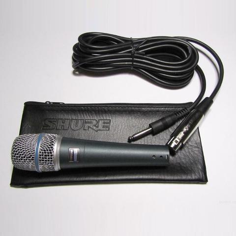 Микрофон Shure beta 57A динамический суперкардиоидный