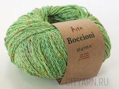 цвет 001  / майская зелень с яркими твидинками