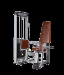 BRONZE GYM D-019 Отведение бедра сидя (КОРИЧНЕВЫЙ)