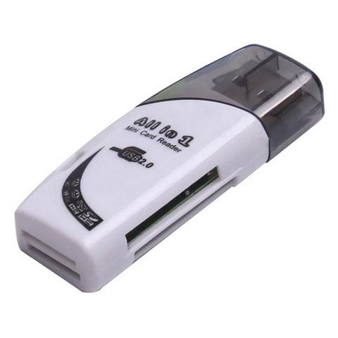 Картридер S-125 microSD на USB (4 в 1)