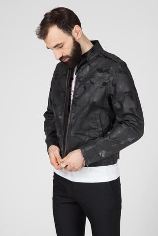 Мужская черная джинсовая куртка D-JEI-SP1-NE Diesel