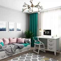 Набор Классика стол со стулом и кровать